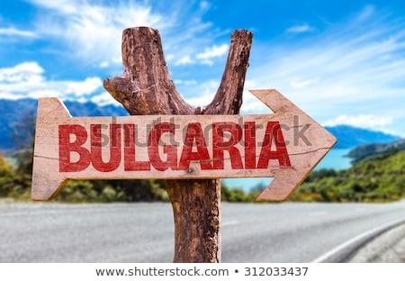Bulgária ilustração projeto assinar país Foto stock © asturianu