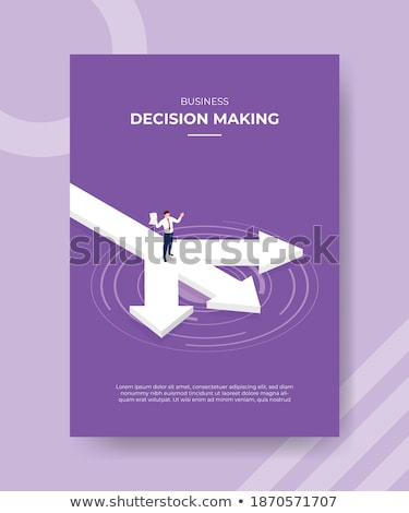 Empresario papel impreso signo de interrogación cara Foto stock © stevanovicigor