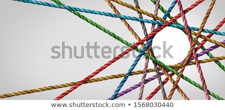 Stockfoto: Sociale · macht · vector · business · internet