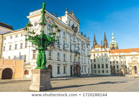 Prague historic architecture Stock photo © Sarkao