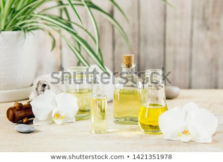 yellow orchid and candles stock photo © tagore75