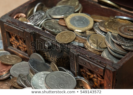 Stock photo: Antique coins