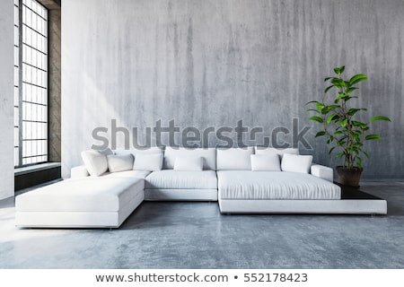 white room for relaxation and conversation Stock photo © vizarch