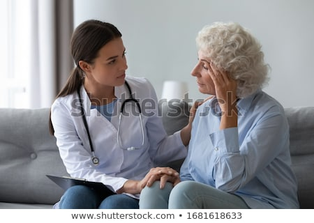 Arzt Anliegen medizinischen Medizin Stock foto © jackethead