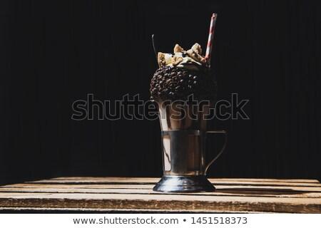 повар заполнение стекла женщину Сток-фото © stockyimages