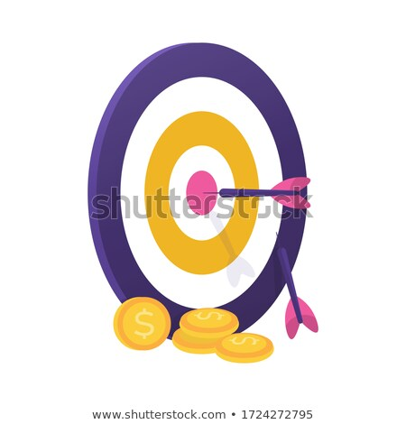 used dart target Stock photo © tiero