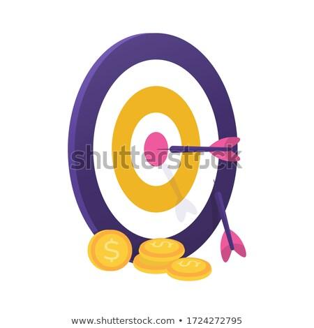 alvo · seta · centro · sucesso · arma · lazer - foto stock © tiero