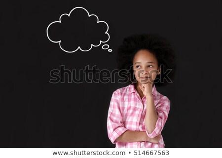 wenig · cute · Junge · Lehrer · Klassenzimmer · lächelnd - stock foto © dave_pot