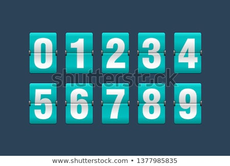 óra · számjegyek · idő · perc · második · kezek - stock fotó © tashatuvango