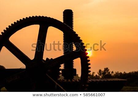 Old winch Stock photo © olandsfokus
