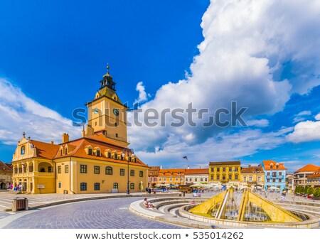 The Black Church cathedral in Brasov  Stock photo © pixachi