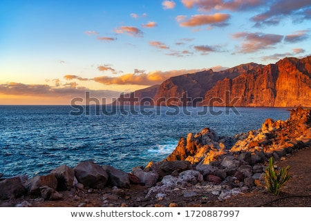 dramatique · vue · monumental · rive · tenerife - photo stock © amok