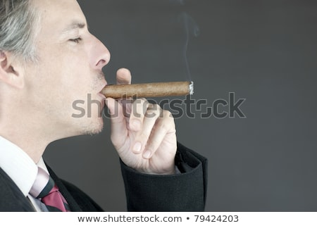 Cigar side view. Stock photo © Fisher