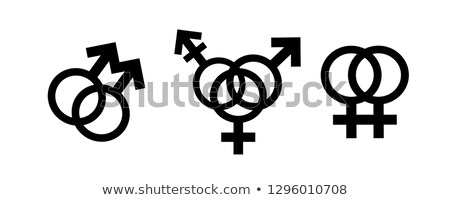 ストックフォト: レズビアン · アイコン · 女性 · 愛 · 女性 · 女性