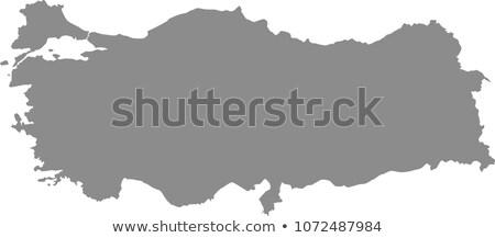 Istanbul · mappa · amministrativa · vettore · immagine · isolato - foto d'archivio © istanbul2009