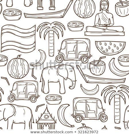 Seamless background on boating theme for your design Stock photo © netkov1