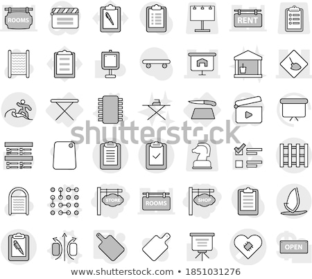 Bouw nota agenda pen business papier Stockfoto © fuzzbones0
