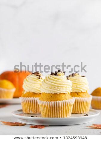 装飾された 秋 黄色 オレンジ 古い ストックフォト © rojoimages