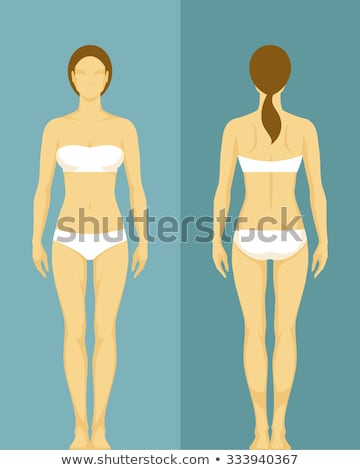 Female body part in panties  Stock photo © deandrobot