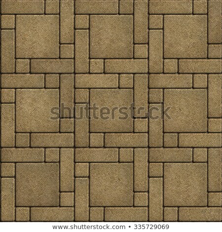 Sand Color Paving Slabs in the form of big Square.. Stock photo © tashatuvango