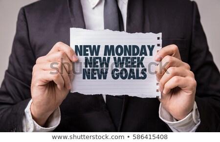 every day is a new chance inspirational quote stock photo © tashatuvango