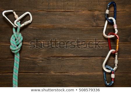 azul · texto · confiabilidad · fuerte · conexión · dos - foto stock © tashatuvango