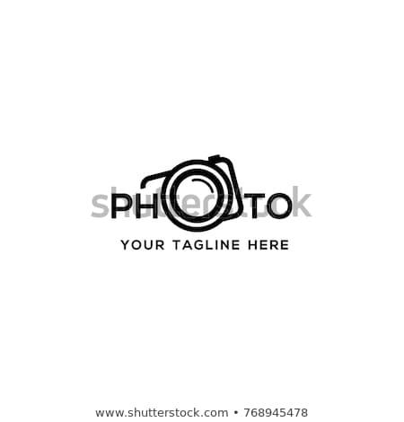 absztrakt · kamera · redőny · logo · kitűnő · eps - stock fotó © butenkow