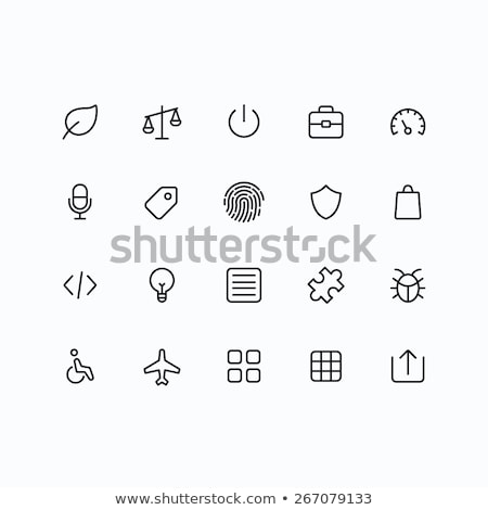 Round icons with bugs Stock photo © bluering