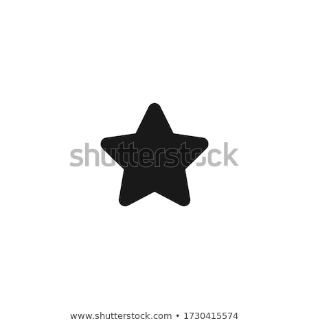 set of shiny star icons stock photo © winner
