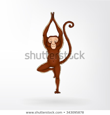 A monkey doing business Stock photo © bluering