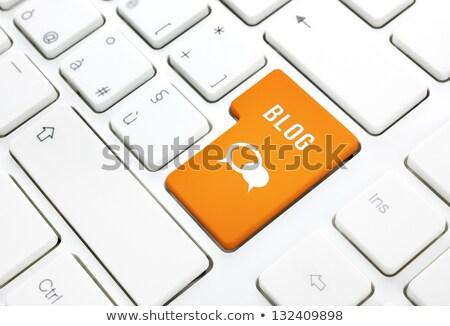 www · ikona · pomarańczowy · przycisk · świat · technologii - zdjęcia stock © oakozhan