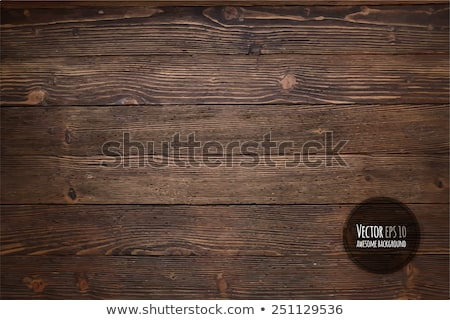 Brown on the wooden background Stock photo © Alex9500