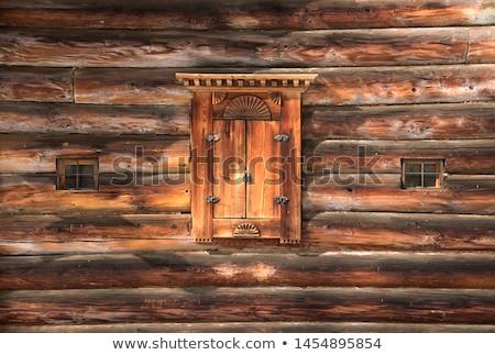 старые · сарай · окна · закрыто - Сток-фото © njnightsky
