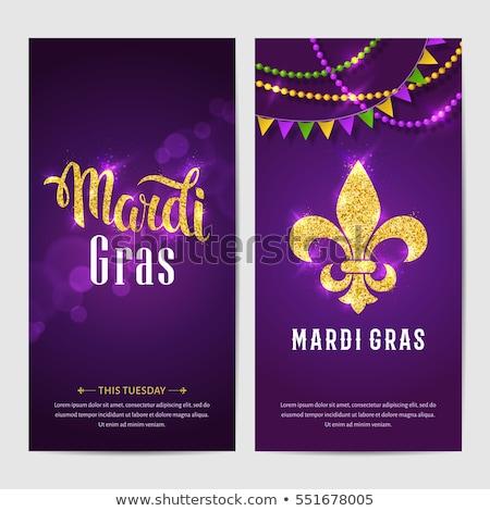 Lily Mardi Gras Stock photo © blackmoon979