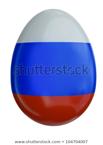 Russian flag Easter egg  Stock photo © bayberry