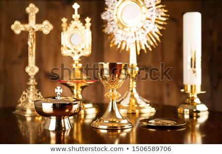holy cross and sacred theme concept design stock photo © sdcrea