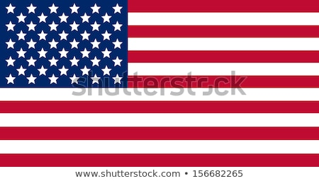 Flag of USA in correct proportion and colors Stock photo © creativika
