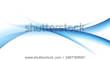 Abstract template background with curved wave.  Stock photo © fresh_5265954