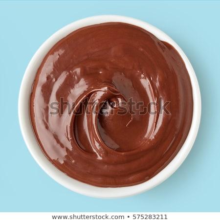 bowl of chocolate spread Stock photo © Digifoodstock