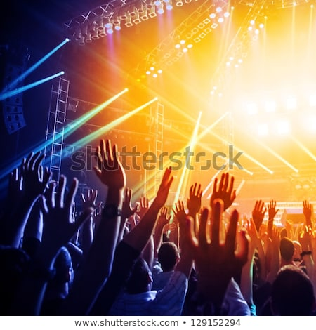 Stok fotoğraf: Müzik · konser · kalabalık · insanlar · yaşamak