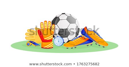 composite image of soccer items stock photo © wavebreak_media