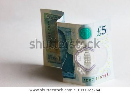 ポンド 通貨 クローズアップ お金 紙 テクスチャ ストックフォト © michaklootwijk