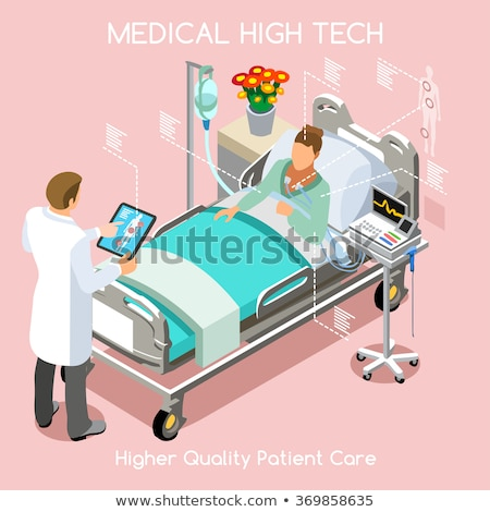 Senior Health Diagnosis. Medical Concept. 3D. Stock photo © tashatuvango