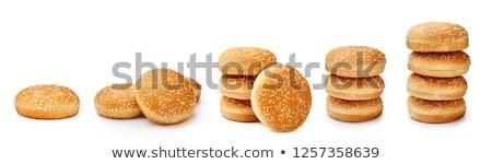 three fresh buns Stock photo © Digifoodstock