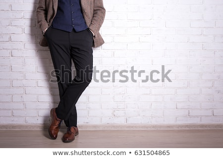 Pants homme corps paire cartoon style Photo stock © blamb