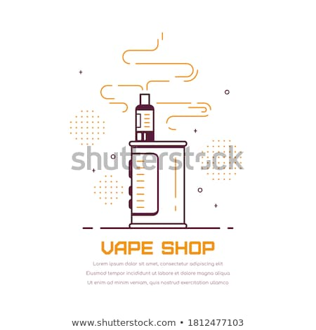 vector vaporizer atomizer device illustration stock photo © trikona