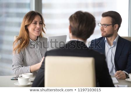 男子 訴訟 女子 發言 商務會議 裙子 商業照片 © robuart