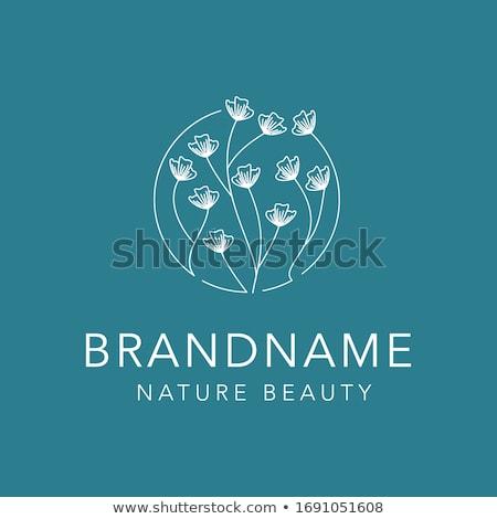 banner · bella · fiorista · piedi - foto d'archivio © decorwithme
