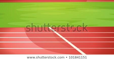 Finish my running Stock photo © iko