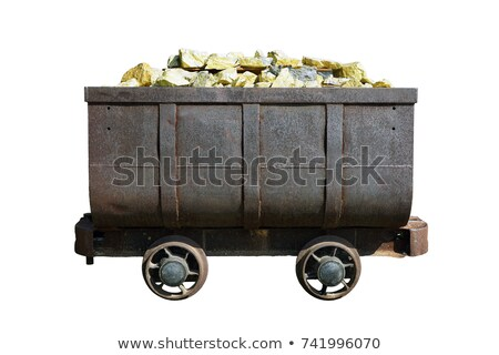 Mining Trolley Full of Gold Stock photo © colematt